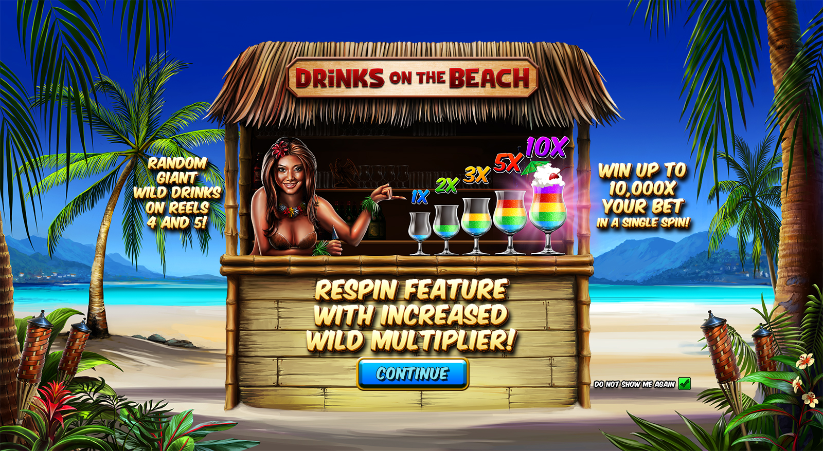 Drinks on the Beach Splash Screen