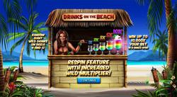 Drinks on the Beach Splash Screen