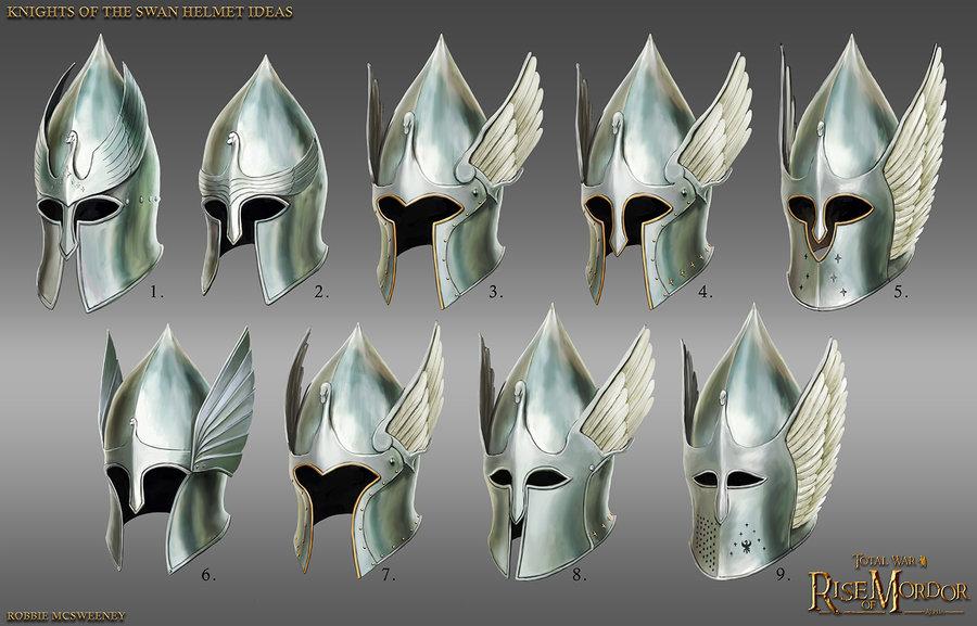 Silver Swan Helmets