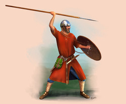 Frankish Warrior Circa 5th century