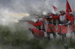 Cevadoth musket volley