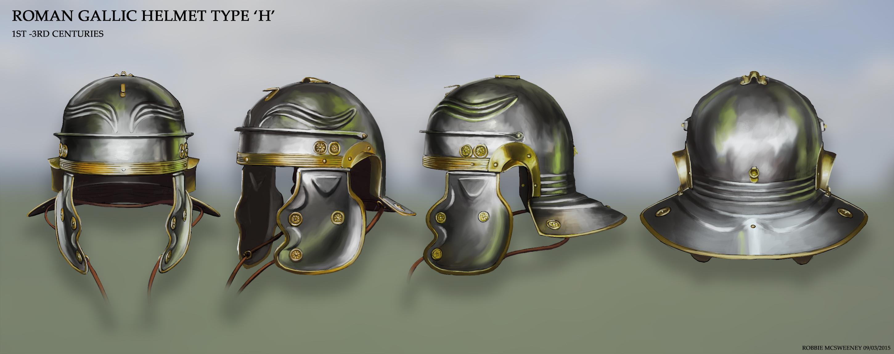 Imperial Gallic H helmet