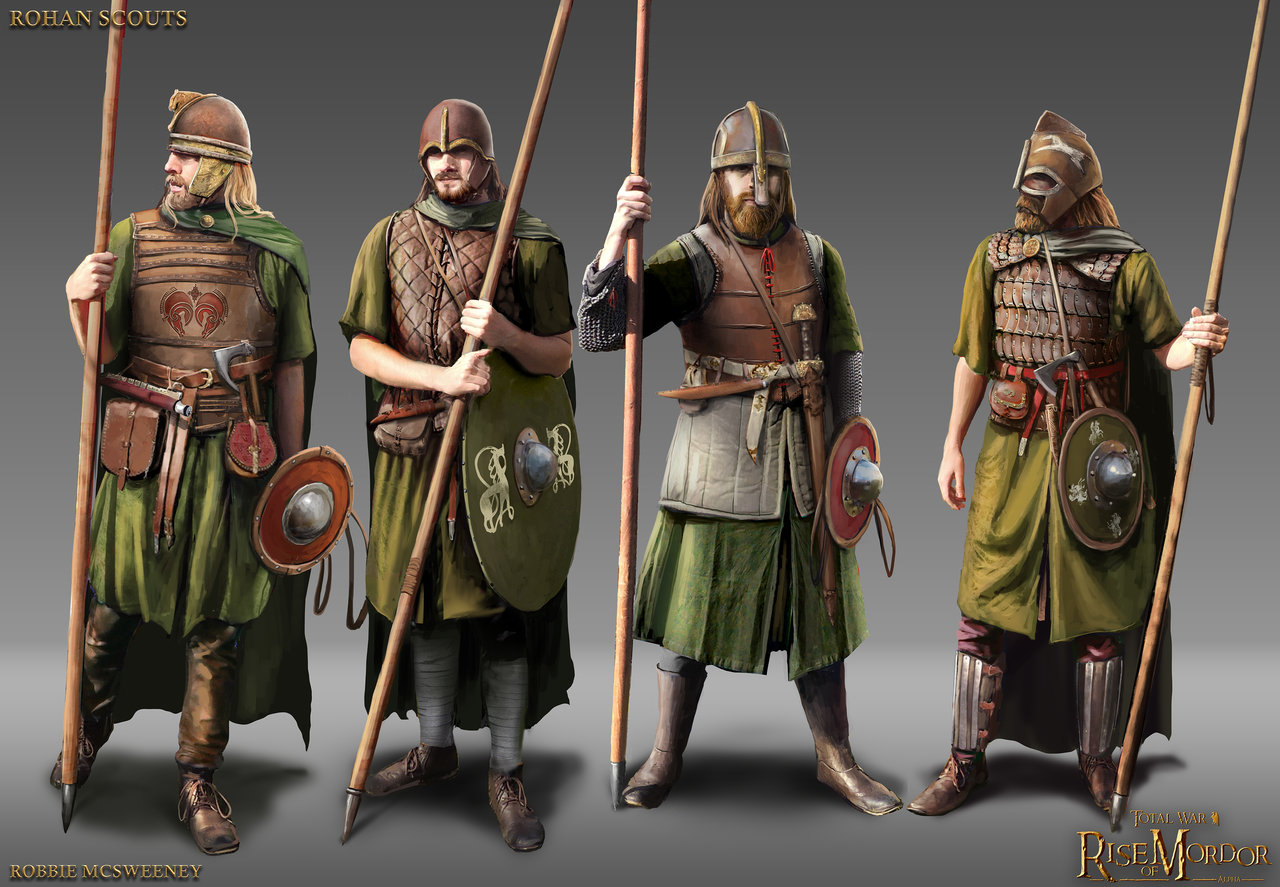 Rise of Mordor: Rohan Scouts
