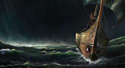 God of Storms Splash Screen art