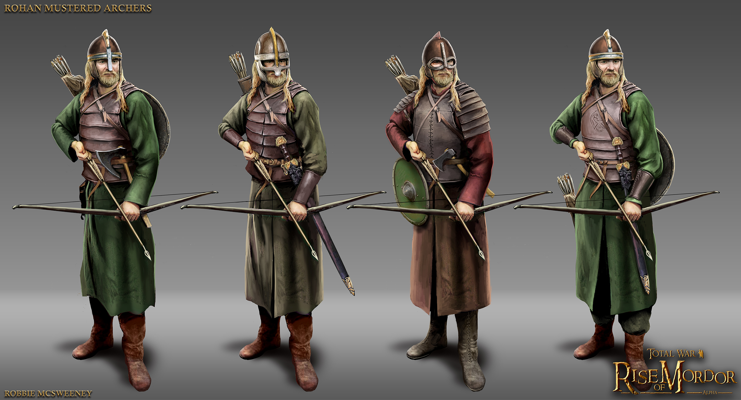 Rohan Mustered Archers