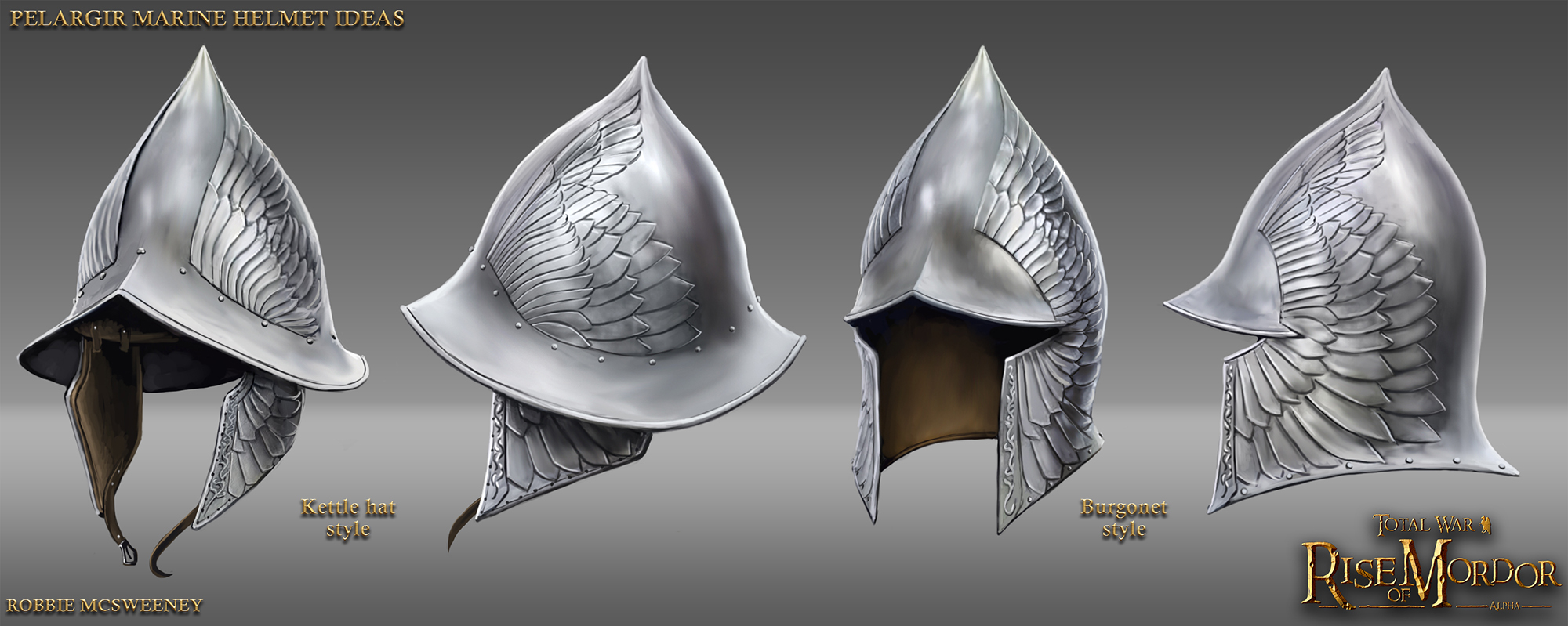 Pelargir helmet ideas