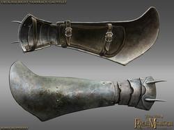 Uruk Pike Vambrace Right