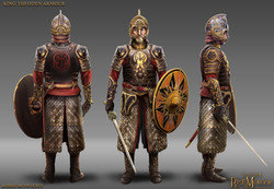 King Theoden Armour