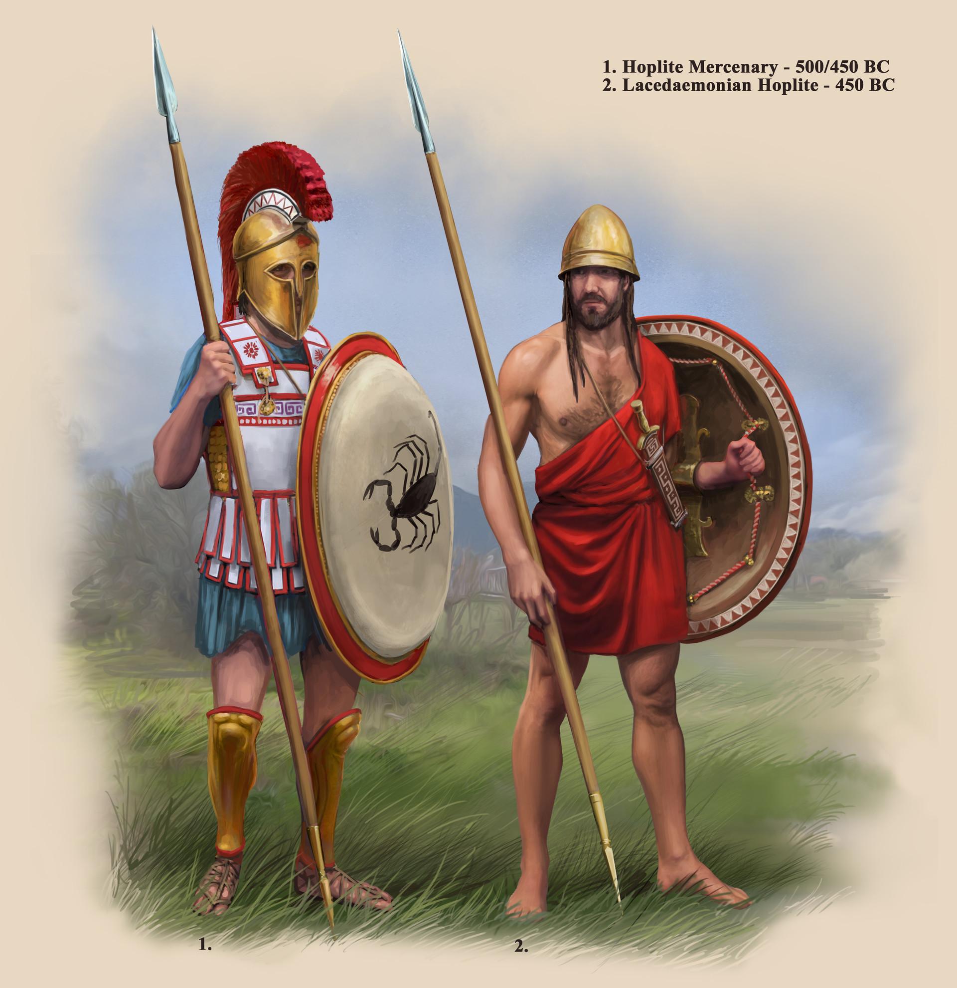 robbie-mcsweeney-classical-greek-warrior