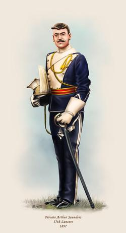 Private Arthur Saunders