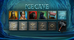 Ice Cave symbols