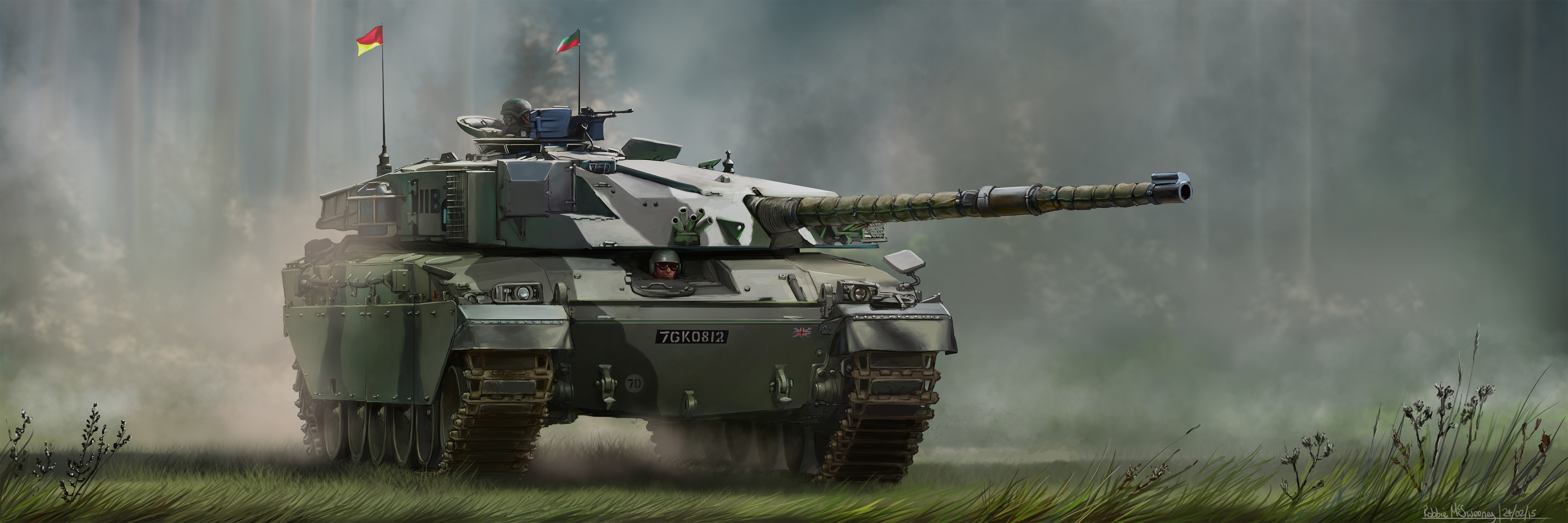 Challenger Mark 1 tank commision 2 final