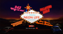 Neon Life Splash Screen
