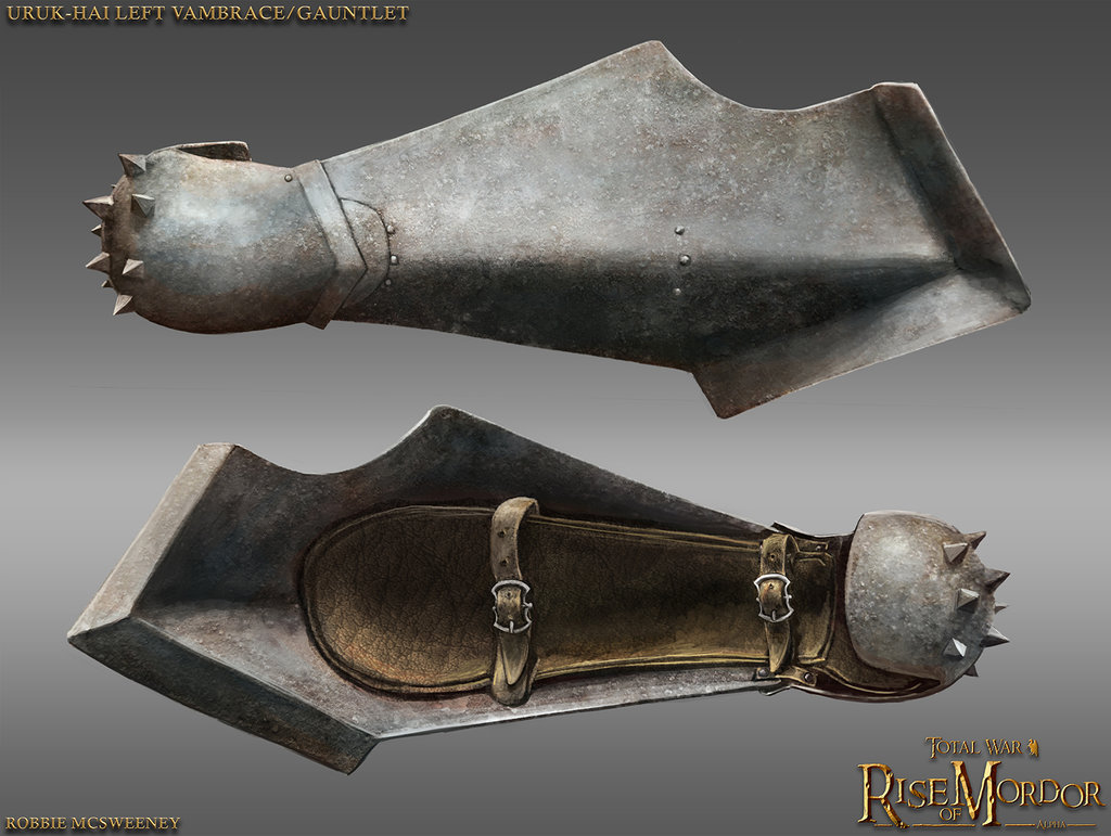 Uruk Pike Vambrace Left