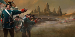 Late 19th Century inspired battle