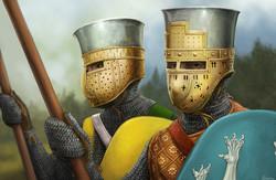 12th Century Roggenden Helmet and varient