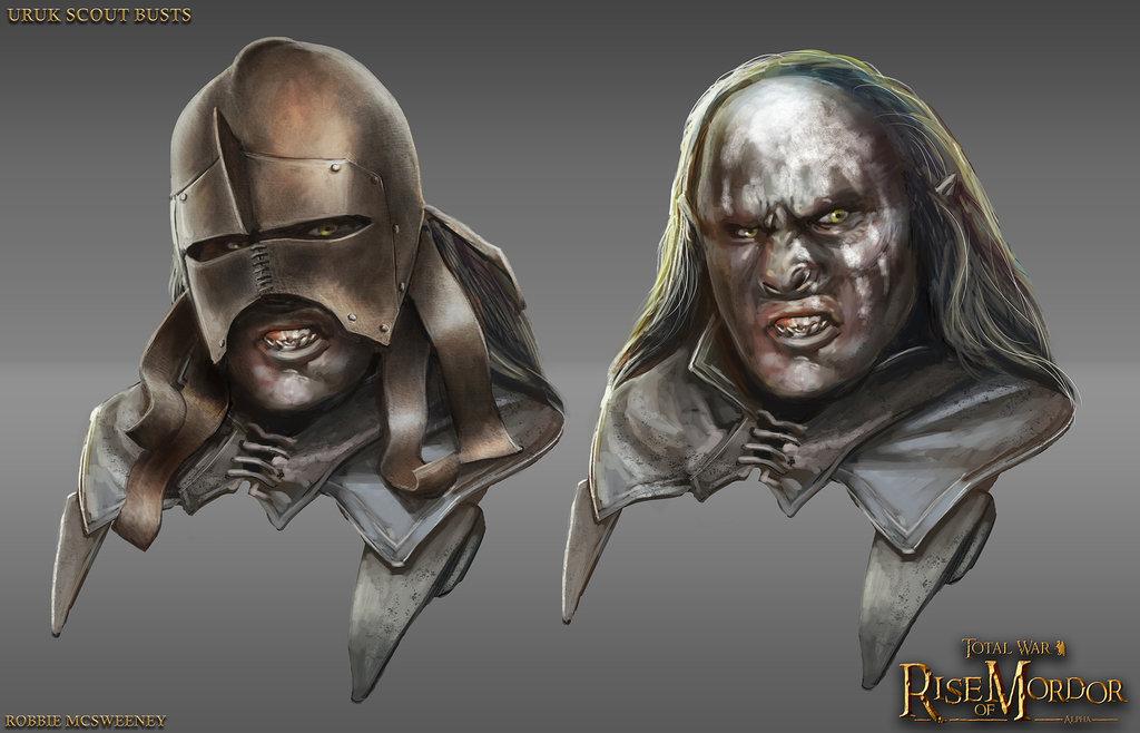 Uruk-Hai Scout Head