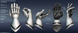 First Order Knight - Gauntlets
