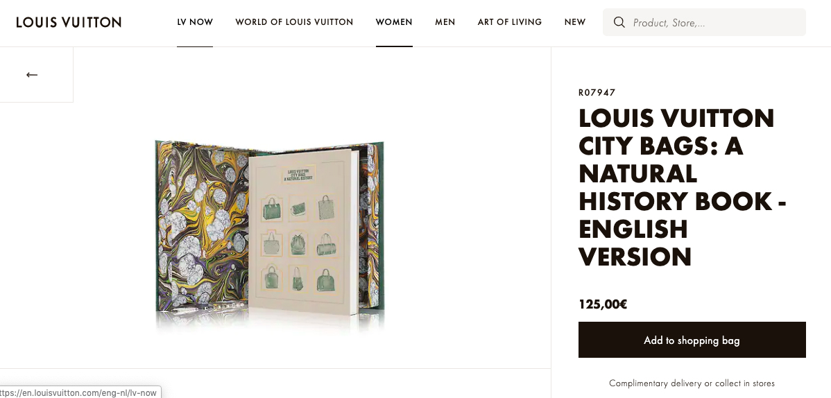 Louis Vuitton-Book