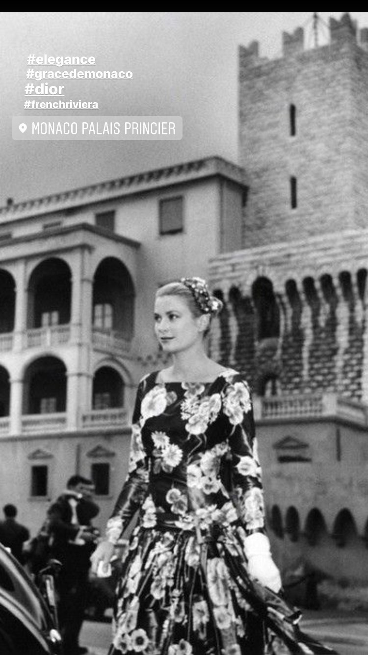 Grace Kelly & Dior
