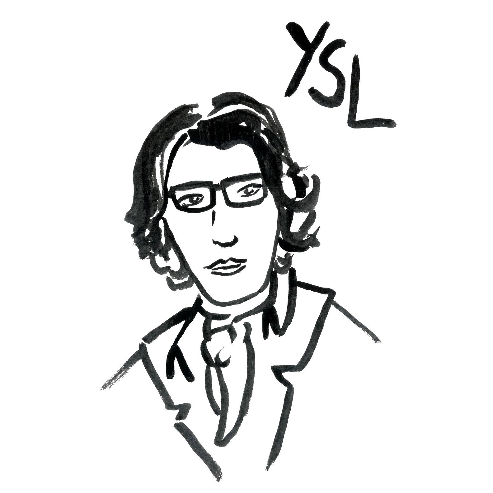 YSL illustration