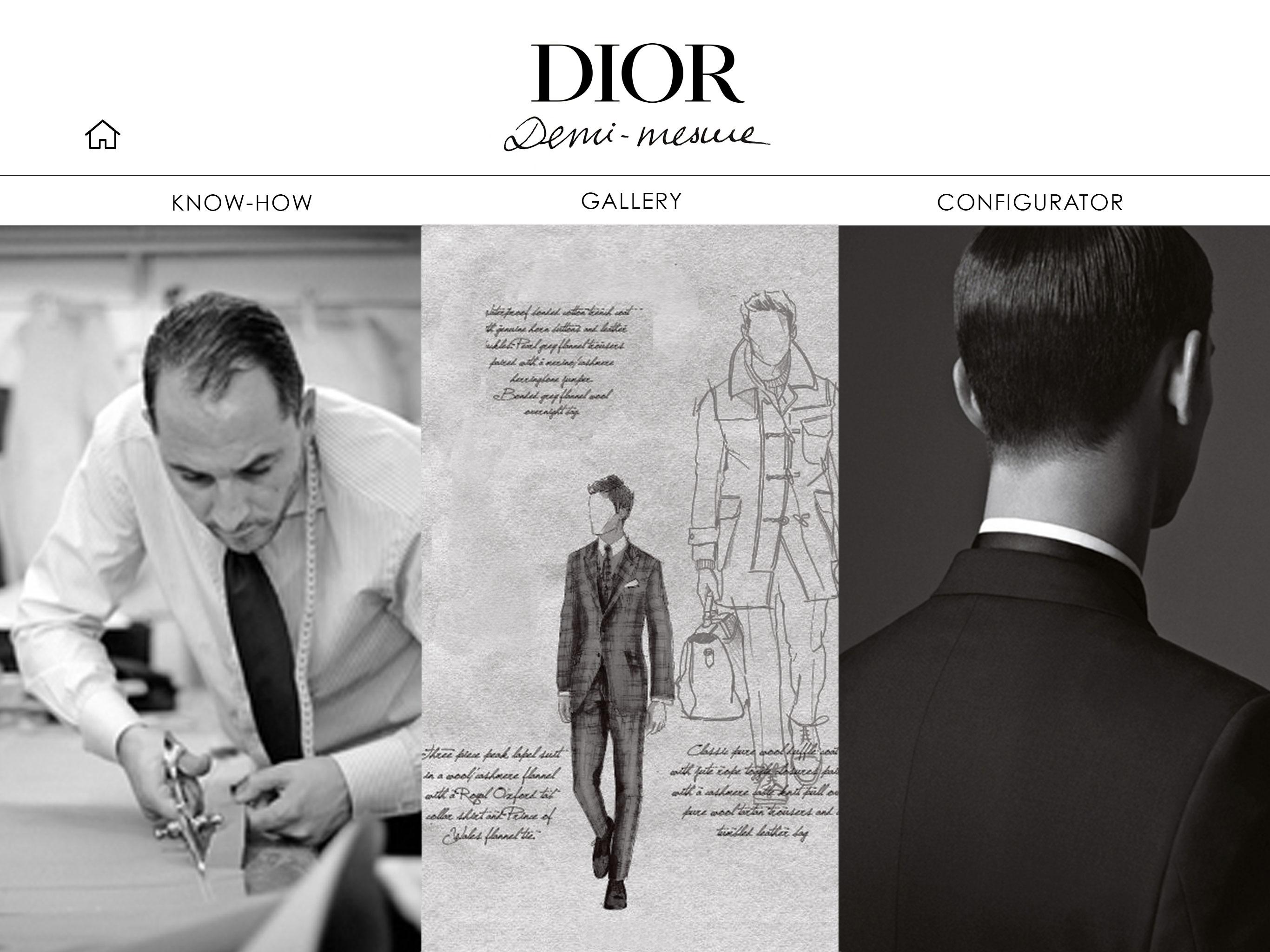 Dior Ipad App