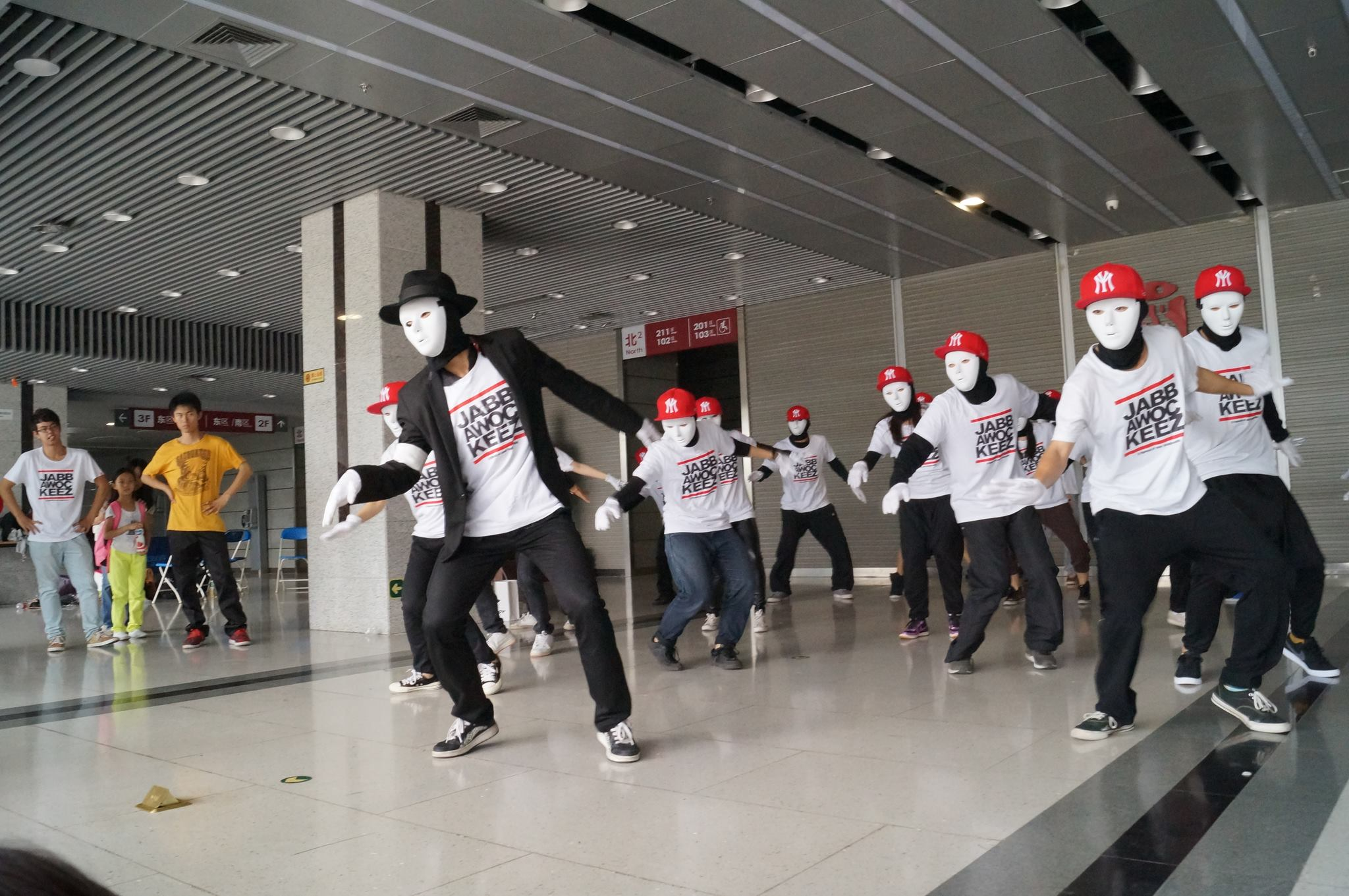 China's Jabbawockeez