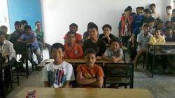 The boys school.