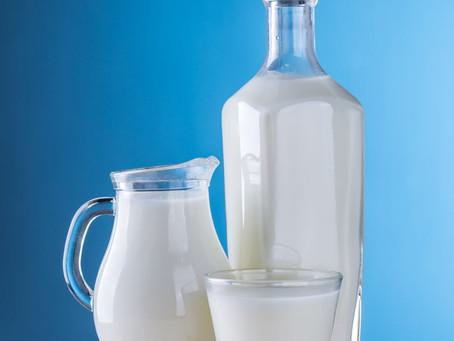 Milk cap colors are not standardized.