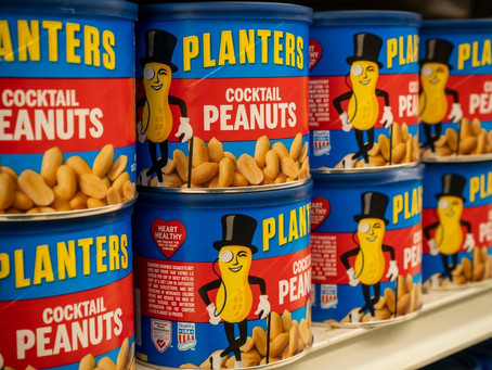 Baby Nut cannot be the reincarnation of Mr. Peanut.
