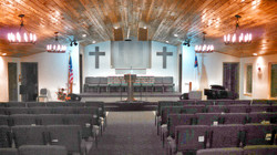 Our Newly remodeled sanctuary