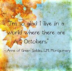 October Reminder