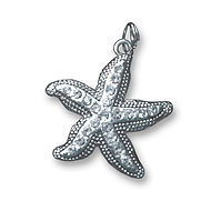 Gratitude Journal Star Fish Charm