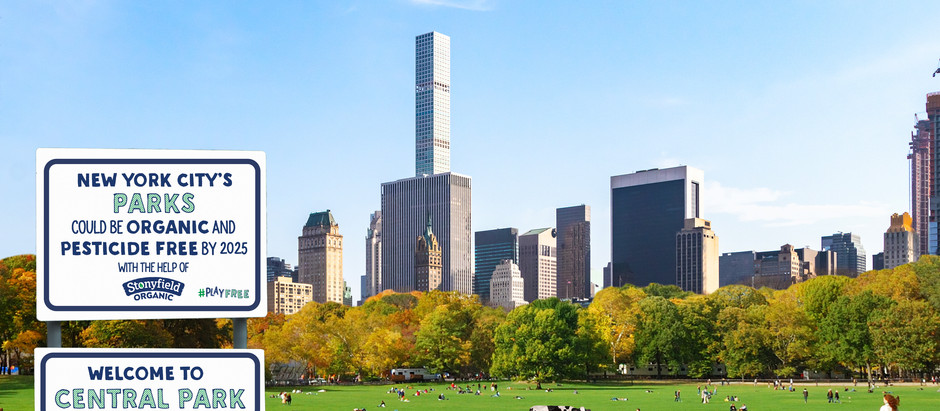 Central Park, Grant Park and Prospect Park To Be Organic by 2025!