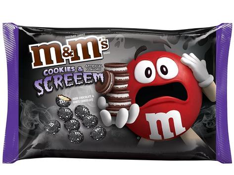 M&M's New 2021 Halloween Flavor!