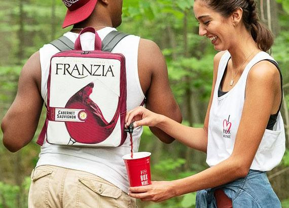 Franzia Wine Backpack!