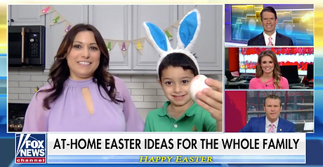 Easter Ideas Zoom Fox and Friends Limor