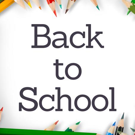 Back To School Essentials!