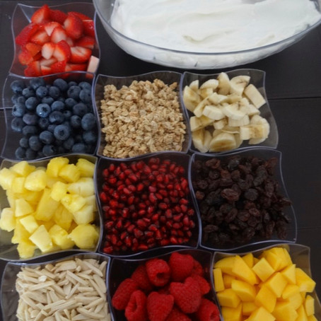 Build-Your-Own Yogurt Station