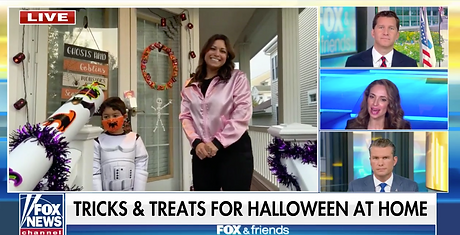 Fox and Friends Halloween Limor Suss