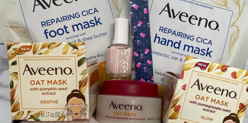 Mother's Day Gift Basket: Aveeno