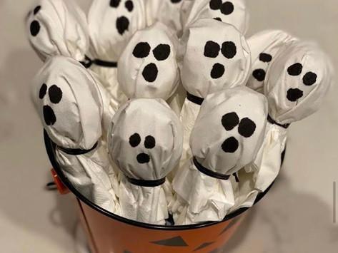 Ghost Lollipops & Decor