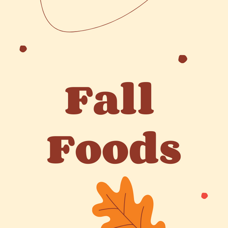 Fall Foods with Atkins!