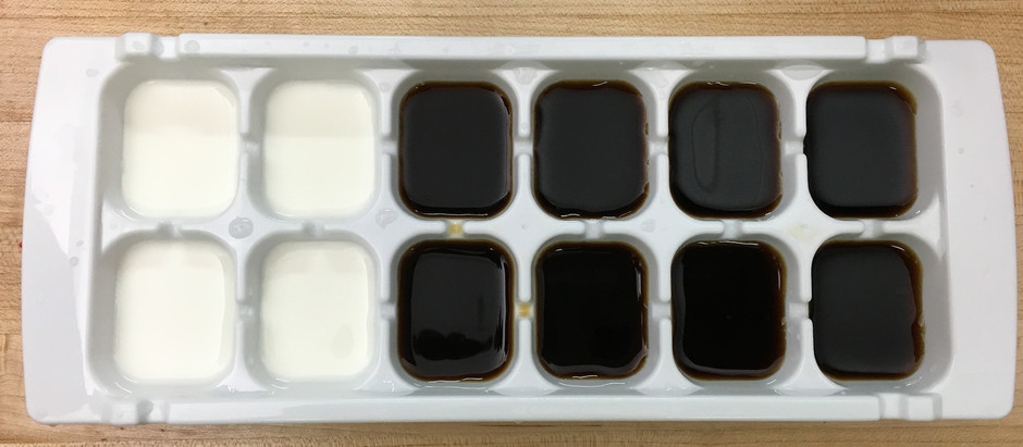 Cold Brew Ice Cubes