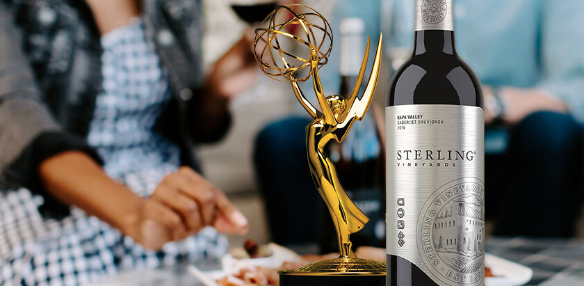 Sterling Vineyards: The Official Wine of the 72nd Emmy® Awards