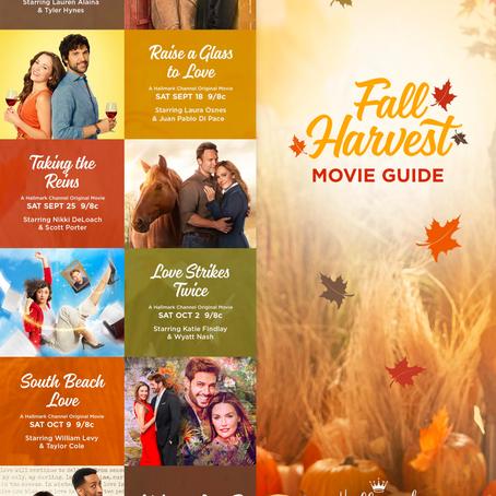 Hallmark's Fall 2021 Movie Line-Up!