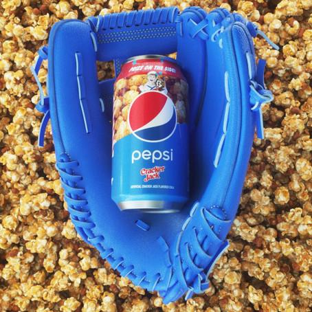 Pespi's New Cracker Jacks Soda!