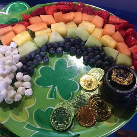 Rainbow Fruit Platter