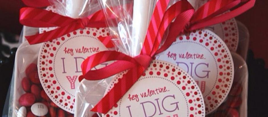 """I Dig You"" Valentine's Day Craft"