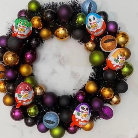 Ferrero: Halloween Wreath